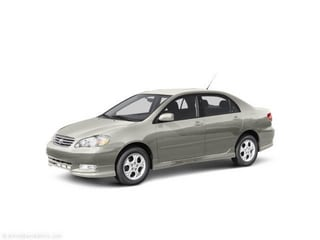 2004 Toyota Corolla near Fort Worth TX 76116 for $4,991.00