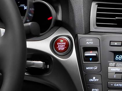start without push-buttons, and push buttons without keyless start