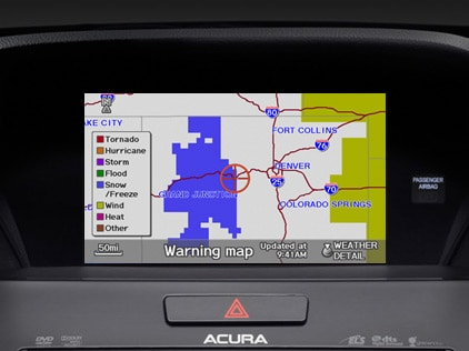 Acura Weather on Acuralink Real Time Weather
