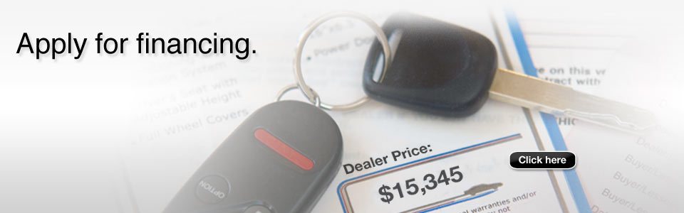 Dealer had auto financing available for bad credit