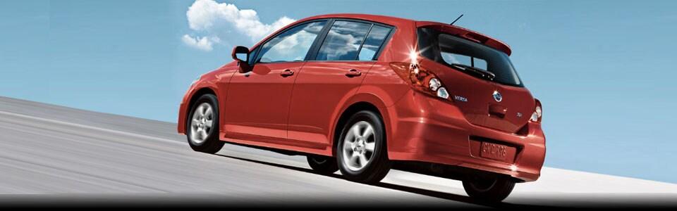 Nissan Versa Hatchback 2010. new 2011 Nissan Versa S