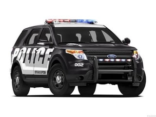 2013 Ford Utility Police Interceptor SUV