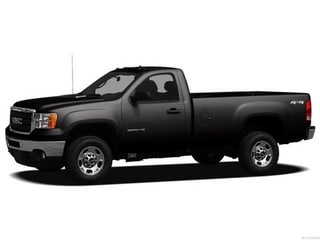 2012 GMC Sierra 2500HD Truck Carbon Black Metallic