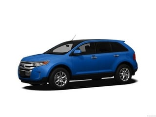 2013 Ford Edge SUV Deep Impact Blue