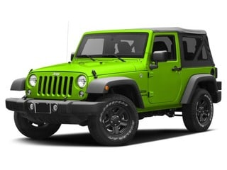 2016 Jeep Wrangler SUV Hypergreen