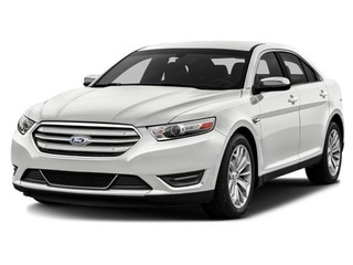 2017 Ford Taurus Sedan White Platinum Metallic Tri-Coat