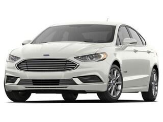 2017 Ford Fusion Hybrid Sedan White Platinum Metallic Tri-Coat