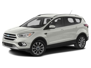 2017 Ford Escape SUV White Platinum Metallic Tri-Coat