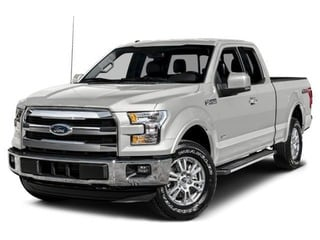 2017 Ford F-150 Truck White Platinum Metallic Tri-Coat
