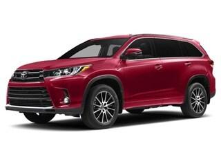 2017 Toyota Highlander VUS Rouge salsa nacré