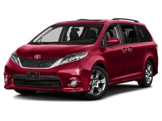 2017 Toyota Sienna Fourgon Rouge salsa nacré