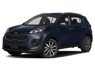 2018 Kia Sportage SUV Storm Blue