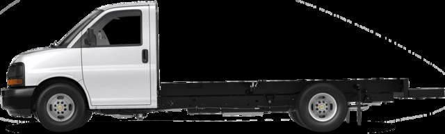 2016 Chevrolet Express fourgon tronqué Camion 4500 2WT