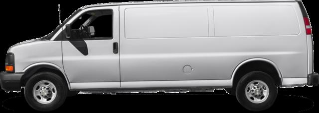 2016 Chevrolet Express 3500 Van 2WT Paratransit