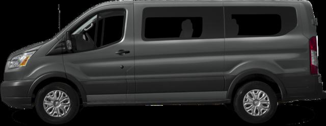 2017 Ford Transit-350 Wagon XL w/60/40 Pass-Side Cargo-Doors