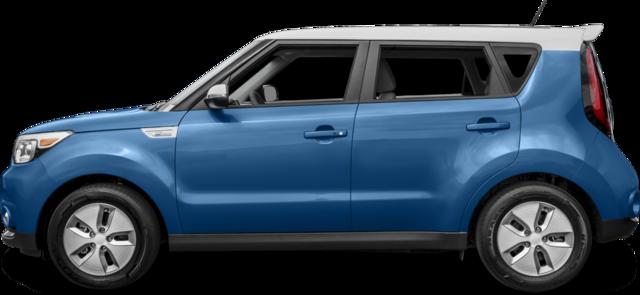2017 Kia Soul EV Hatchback EV avec Noir/Rouge