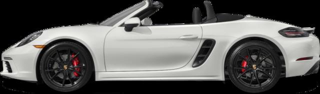 2017 Porsche 718 Boxster Convertible S (M6)