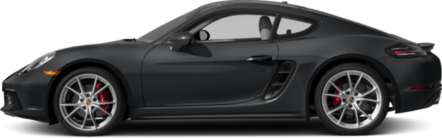 2017 Porsche 718 Cayman Coupe S