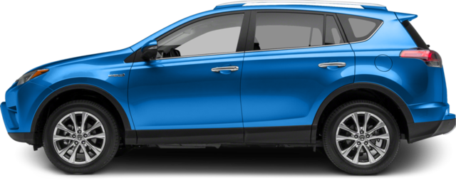 2017 Toyota RAV4 Hybrid SUV LE+