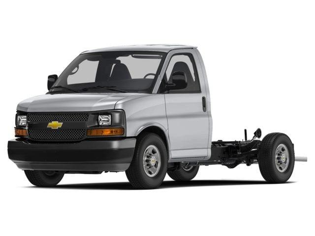 2017 Chevrolet Express fourgon tronqué Camion