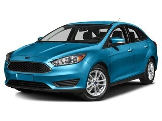 New 2017 Ford Focus SEL Sedan in Nisku