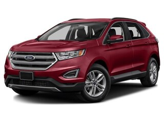New 2017 Ford Edge SEL SUV in Nisku