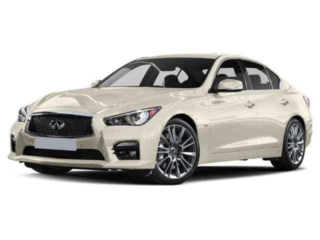 2017 INFINITI Q50 Red Sport 400 AWD 400 HP! Sedan