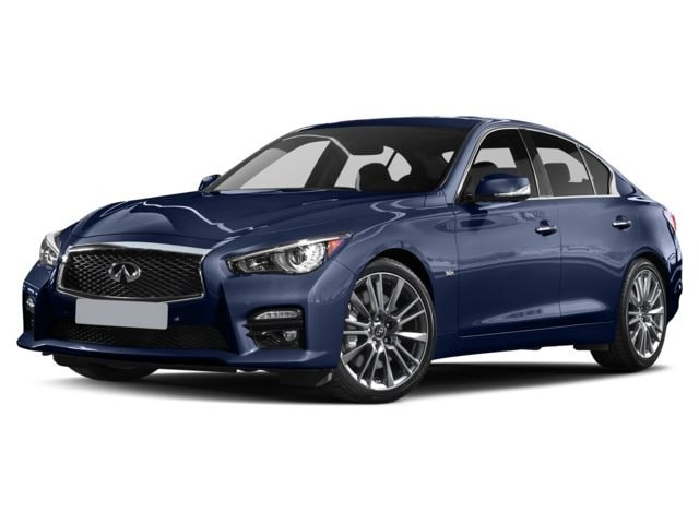 2017 INFINITI Q50 Red Sport 400 AWD 4-Door Sedan