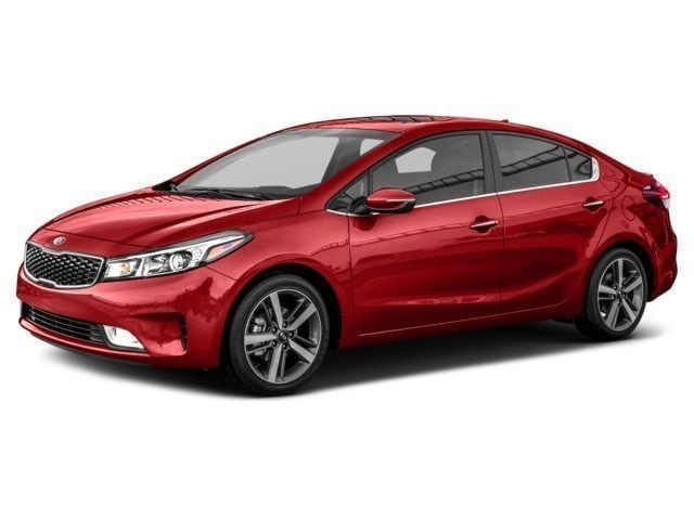 2017 Kia Forte EX Luxury Sedan 6-Speed Automatic 2.0L Radiant Red