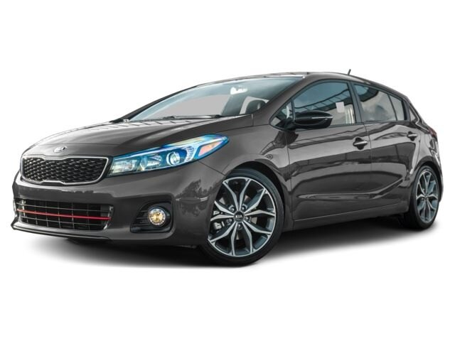2017 Kia Forte 1.6L SX Hatchback 7 speed automatic with auto-shift [AC, PNT, DTF, FR] 1.6L Urban Grey