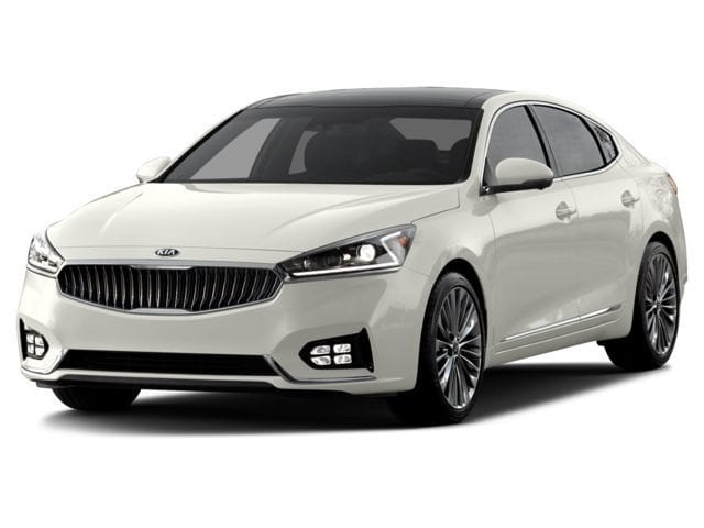 2017 Kia Cadenza Limited Sedan A8 3.3L Snow White Pearl