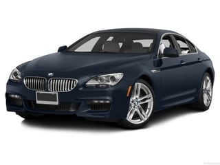 2014 BMW 650 Gran Coupe Sedan