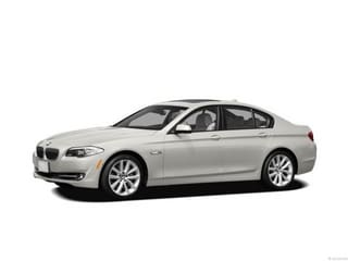 2012 BMW 528i Sedan Alpine White