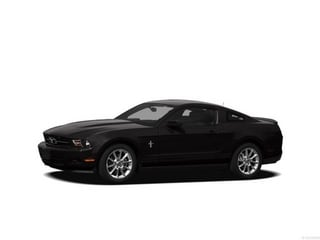 2012 Ford Mustang Coupe Black