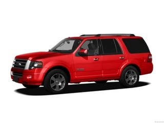 2012 Ford Expedition SUV Autumn Red Metallic