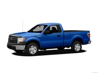 2012 Ford F-150 Truck Blue Flame Metallic