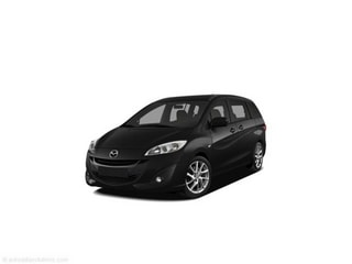 2012 Mazda Mazda5 Wagon Brilliant Black Clearcoat