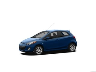 2012 Mazda Mazda2 Hatchback Aquatic Blue Mica