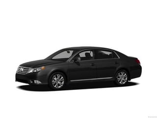 2012 Toyota Avalon Sedan Black