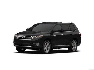 2012 Toyota Highlander SUV Black