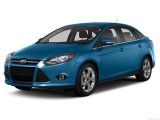 2013 Ford Focus Sedan Blue Candy Metallic