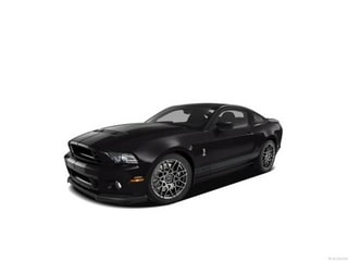 2013 Ford Shelby GT500 Coupe Black