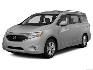 2013 Nissan Quest Van Brilliant Silver