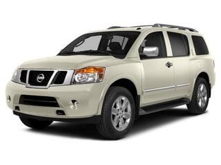 2015 Nissan Armada SUV Pearl White
