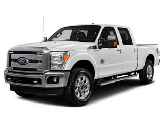 2016 Ford F-250 Truck White Platinum Metallic Tri-Coat