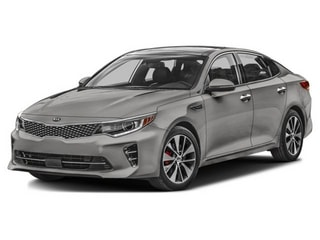 2016 Kia Optima Sedan Titanium Gray