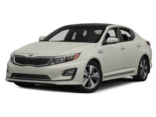 2016 Kia Optima Hybrid Sedan Snow White Pearl