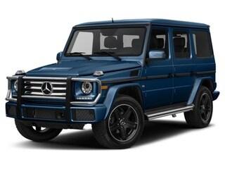 2016 Mercedes-Benz G-Class SUV designo Slate Blue Varicolor