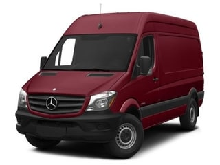 2016 Mercedes-Benz Sprinter Van Velvet Red