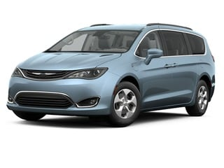 2017 Chrysler Pacifica Van Silver Teal Exterior Paint
